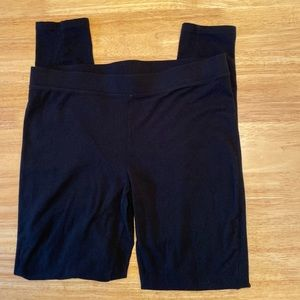 GAP pure body leggings in L, black